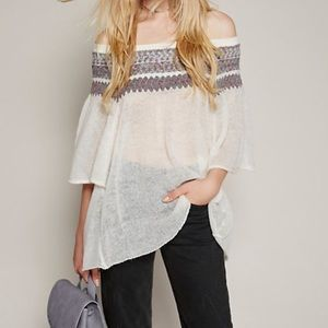 * Free People Lock Lomand Sweater *